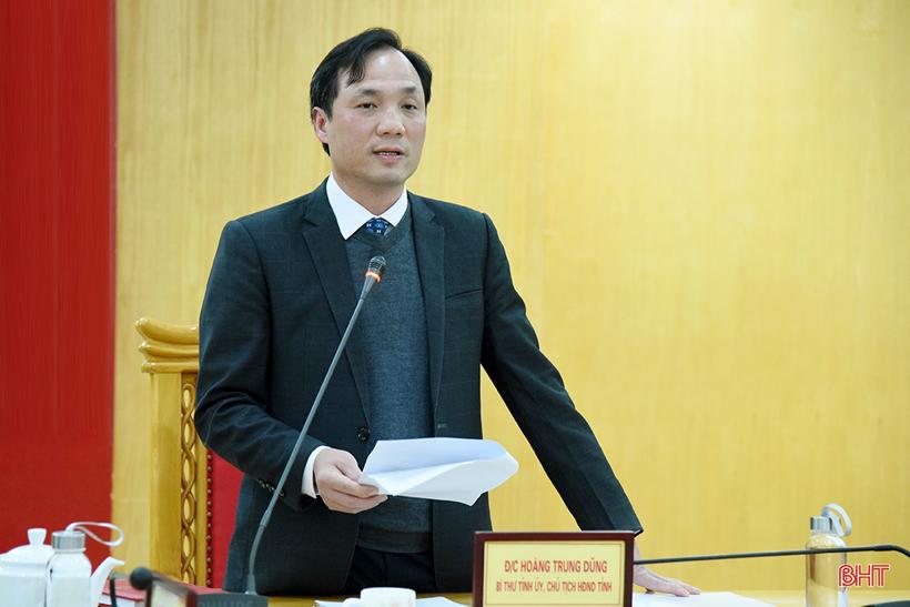 Lãnh đạo Hà Tĩnh tiếp công dân định kỳ tháng 3 vào sáng 15