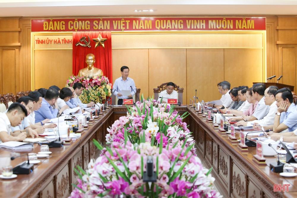 Đại hội Đảng bộ tỉnh Hà Tĩnh nhiệm kỳ 2020 - 2025 phải là ngày hội lớn của toàn dân