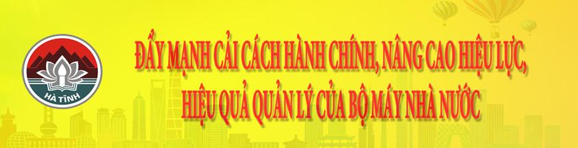 Đẩy mạnh CCHC