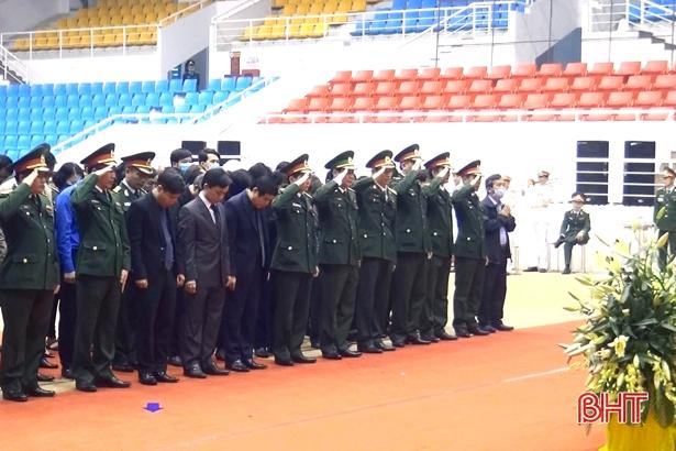 Lãnh đạo Hà Tĩnh viếng 22 liệt sỹ Đoàn Kinh tế - Quốc phòng 337