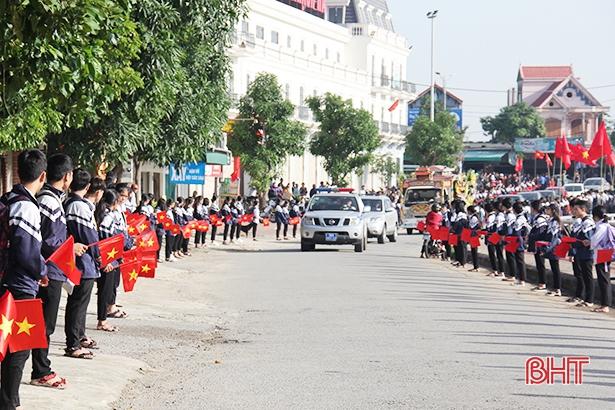 Đón các liệt sỹ Đoàn Kinh tế - Quốc phòng 337 về với quê hương Hà Tĩnh