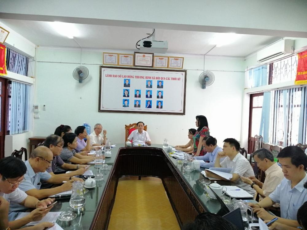 Ủy ban quốc gia về người khuyết tật Việt Nam làm việc tại Hà Tĩnh