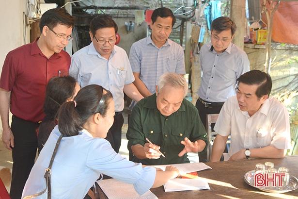 Hơn 133.000 người dân Hà Tĩnh đã nhận tiền từ gói hỗ trợ 62 nghìn tỷ đồng