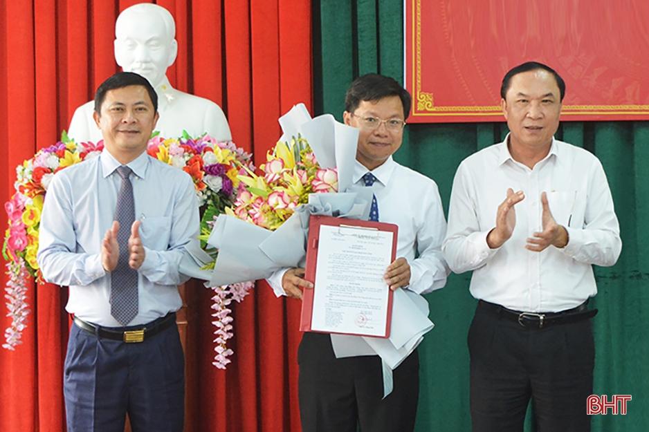 Hà Tĩnh: Điều động, bổ nhiệm chức danh lãnh đạo các ngành