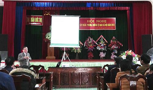Tập huấn phòng ,chống tệ nạn mại dâm và hộ trỡ các nạn nhân bị buôn bán tại huyên Đức Thọ